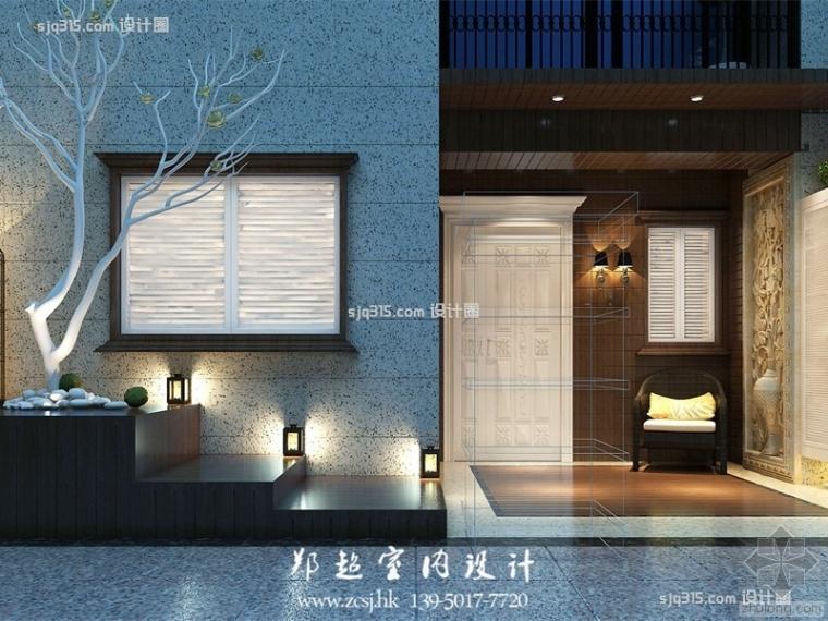 320平米美式风格别墅装修效果图| 设计圈郑超设计师