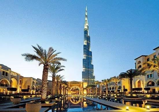 迪拜|建筑结构大师的想象力划破迪拜1000米的天空!_4