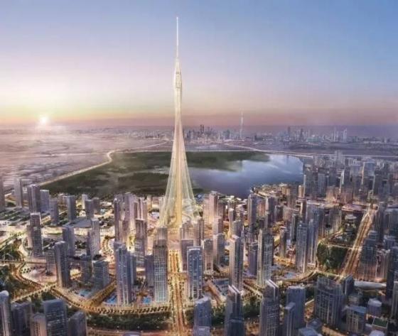 迪拜|建筑结构大师的想象力划破迪拜1000米的天空!_12