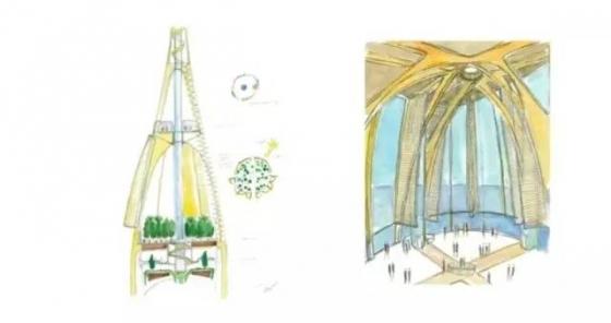 迪拜|建筑结构大师的想象力划破迪拜1000米的天空!_18