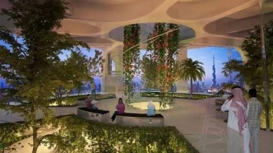 迪拜|建筑结构大师的想象力划破迪拜1000米的天空!_26
