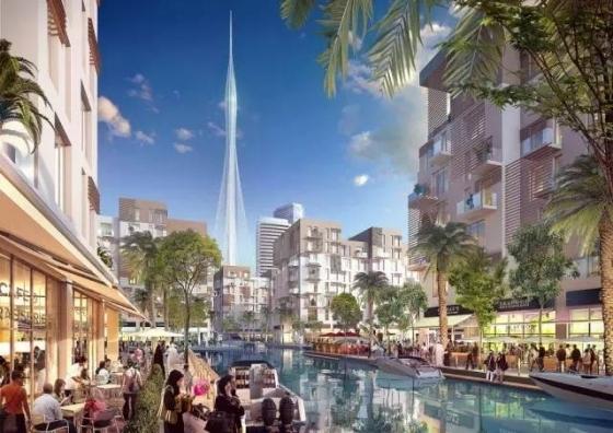 迪拜|建筑结构大师的想象力划破迪拜1000米的天空!_28