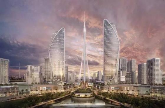 迪拜|建筑结构大师的想象力划破迪拜1000米的天空!_27