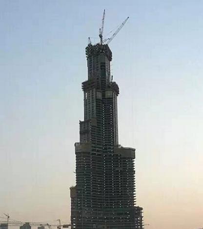迪拜|建筑结构大师的想象力划破迪拜1000米的天空!_40