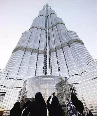 迪拜|建筑结构大师的想象力划破迪拜1000米的天空!_42