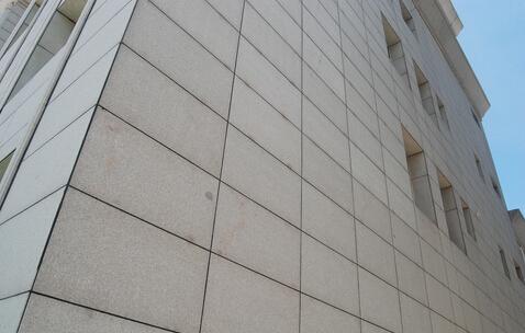 浅谈干挂石材幕墙中石材的质量控制