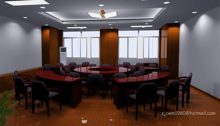 东方出版社会议室