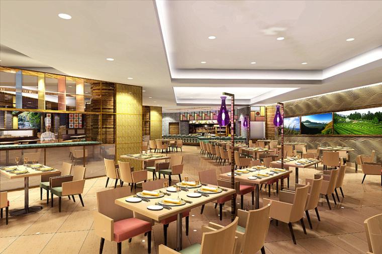 香格里拉酒店的一个餐厅改造项目