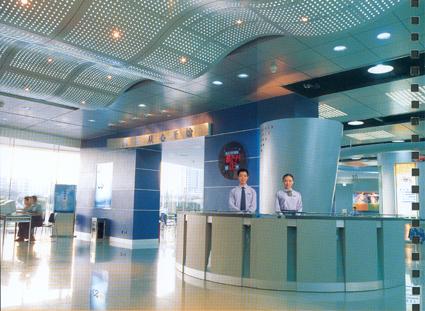 移动通讯的大厅装饰工程照片