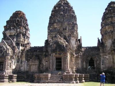 山友寺院(VatSamYotinLopburi)-山友寺院(Vat Sam Yot in Lopburi)第2张图片