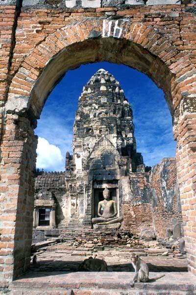 山友寺院(VatSamYotinLopburi)-山友寺院(Vat Sam Yot in Lopburi)第4张图片