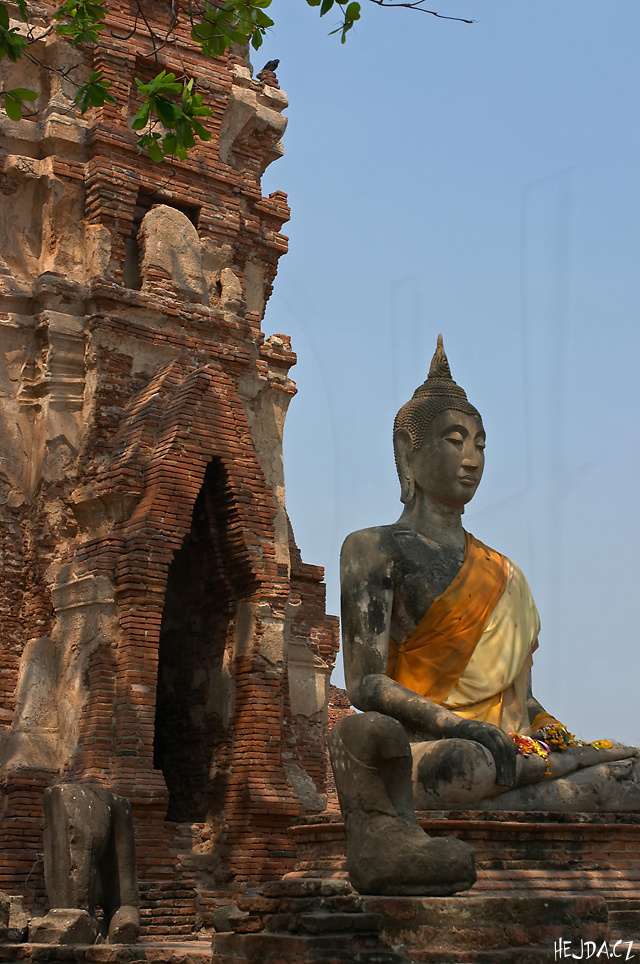 山友寺院(VatSamYotinLopburi)--山友寺院(Vat Sam Yot in Lopburi)第9张图片