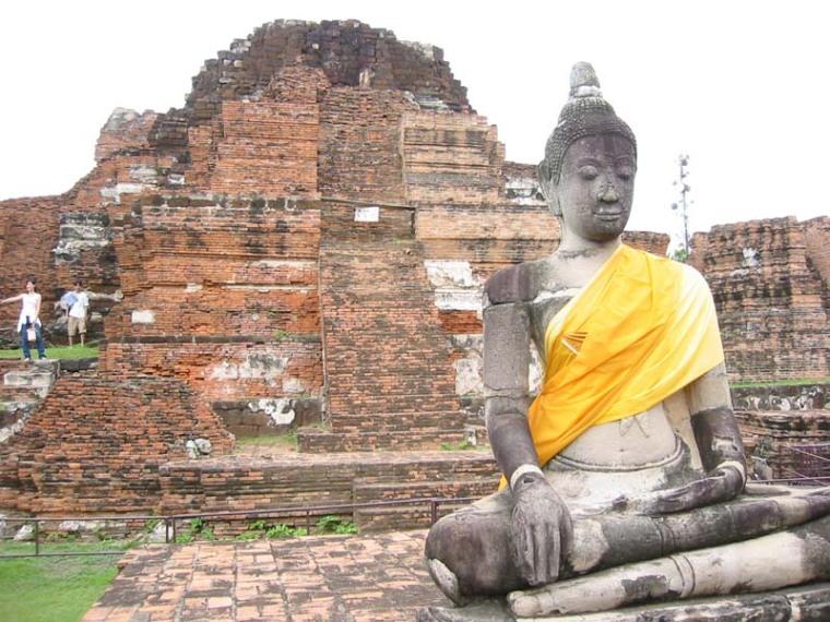 山友寺院(VatSamYotinLopburi)--山友寺院(Vat Sam Yot in Lopburi)第10张图片