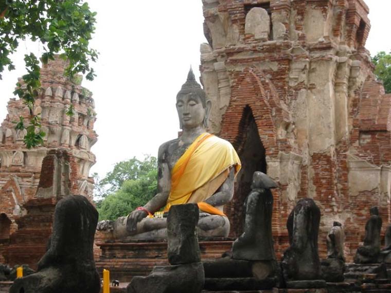 山友寺院(VatSamYotinLopburi)--山友寺院(Vat Sam Yot in Lopburi)第13张图片