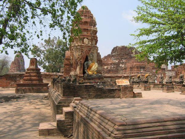 山友寺院(VatSamYotinLopburi)--山友寺院(Vat Sam Yot in Lopburi)第14张图片