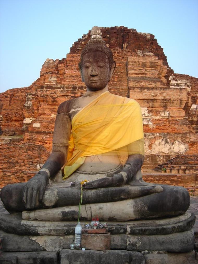 山友寺院(VatSamYotinLopburi)--山友寺院(Vat Sam Yot in Lopburi)第18张图片