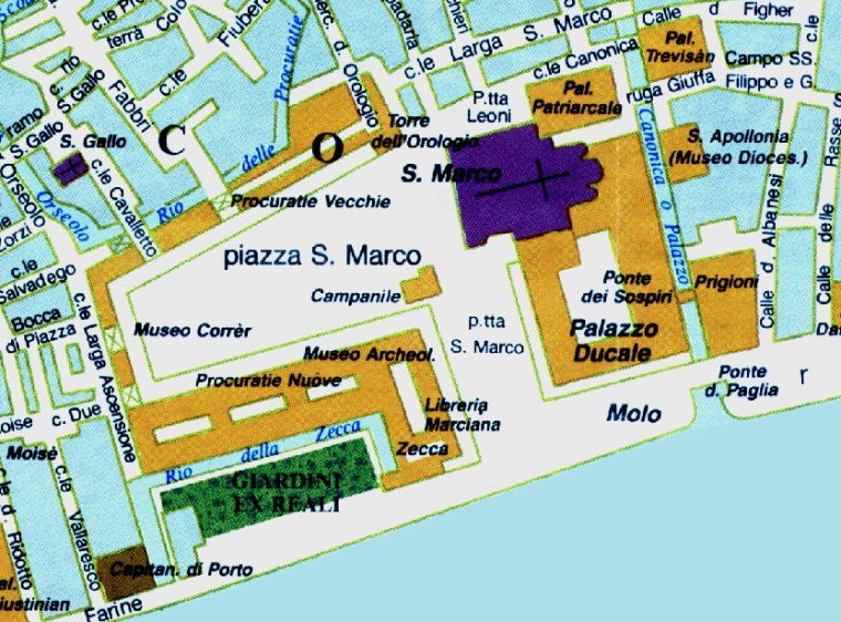 圣马可广场和总督府(Piazza di San marco and Palazzo Ducale)