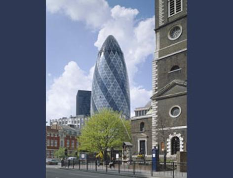 英国伦敦瑞士再保险总部大厦