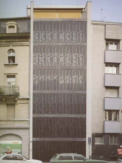 Schutzenmattstrasse的公寓大楼