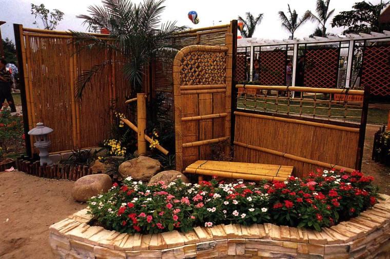 日式庭院风格的一隅