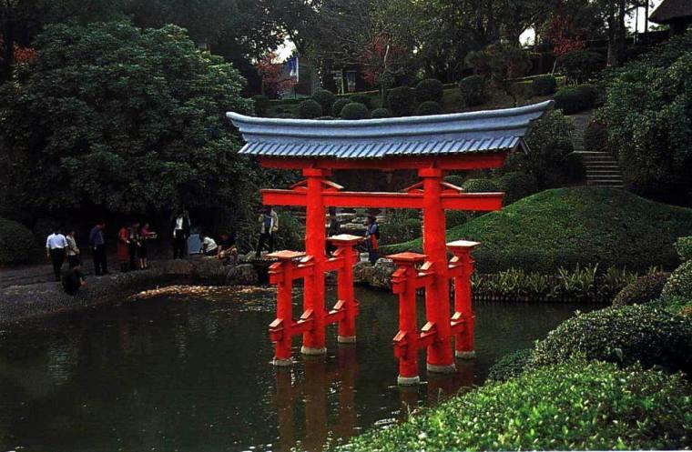 日式园林小品