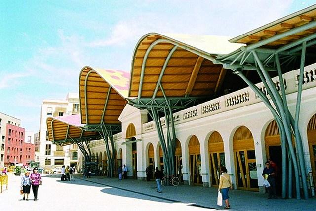 圣卡特琳市场改造