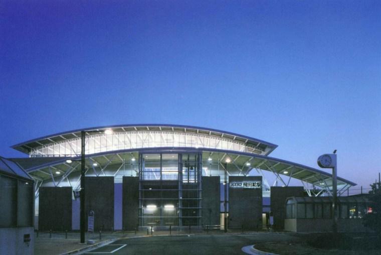 东京的火车站之一(Keio Line Tobitakyu Station)