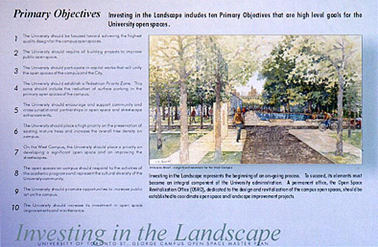 多伦多大学的圣乔治开放空间总体规划 (University of Toronto St. George Open Space Master Plan )第3张图片
