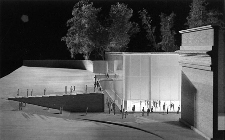 现代美术馆扩建工程大赛方案