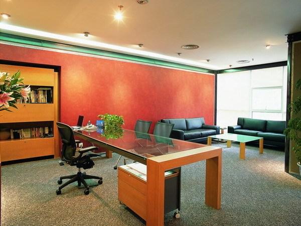 深圳某设计公司写字楼室内装饰工程