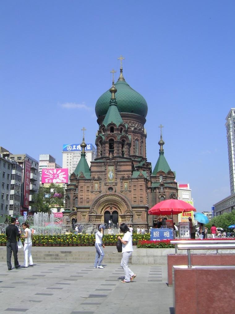 哈尔滨特色建筑图片--原创摄影