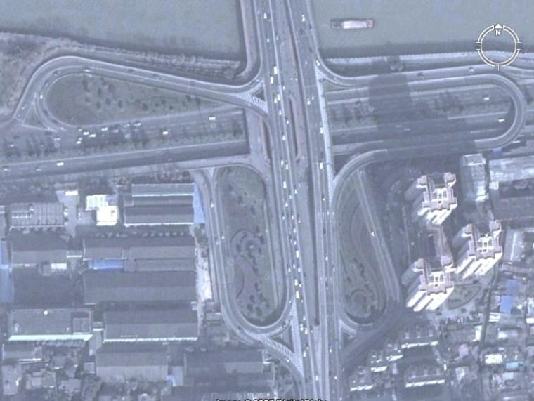 U型桥台扩大基础桥图片资料下载-杭州市-中河立交桥