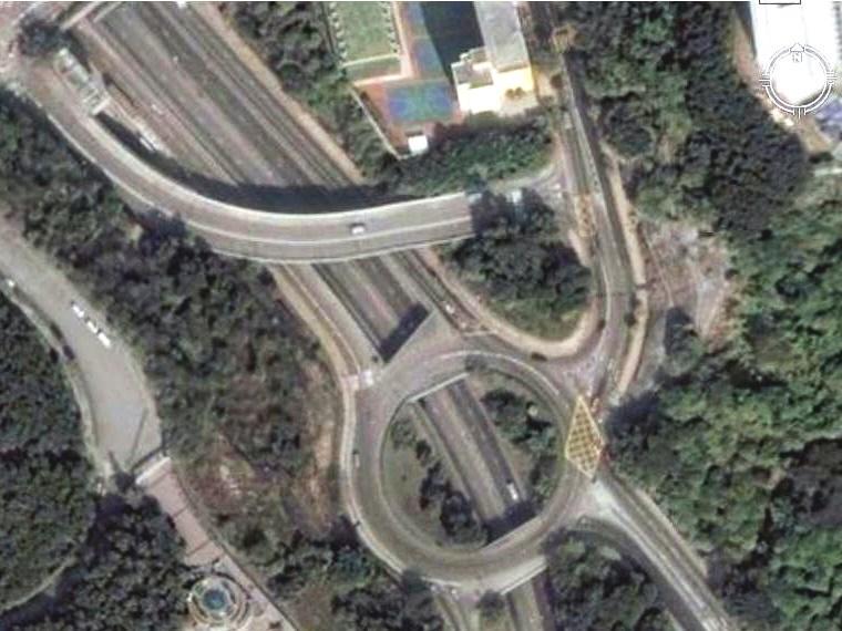 香港九龙 蓝田救护站 立交桥