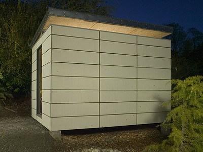 modern-shed制作室设计的简易移动房