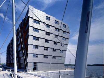 设计师OMA设计的波浪型公寓