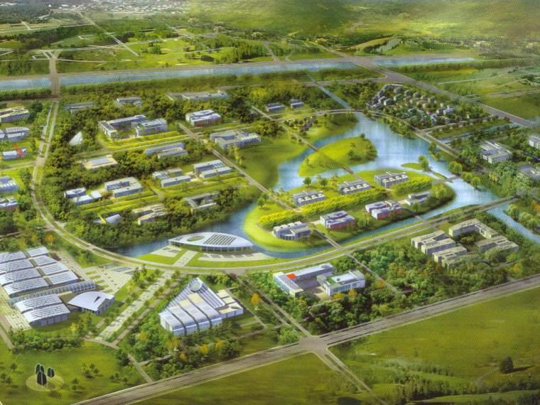 北京中关村环保科技示范园控制性详细规划