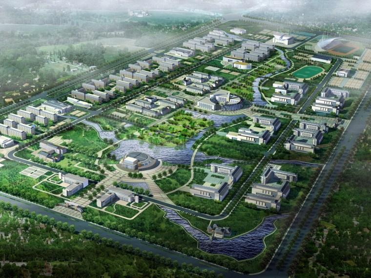 安徽师范大学新小区总体规划设计