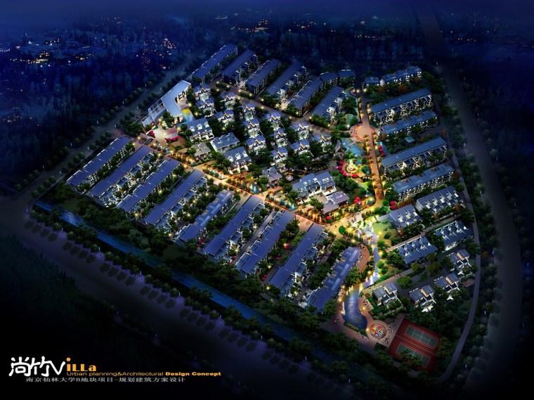 南京仙林大学B地块项目规划建筑设计方案