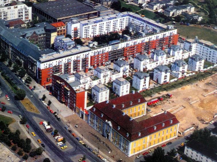 柏林博物馆旁住宅园