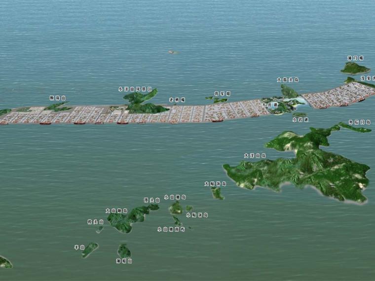 东海大桥效果图