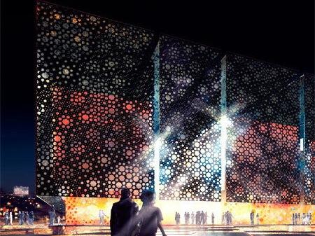 上海世博会的阿联酋展馆设计方案