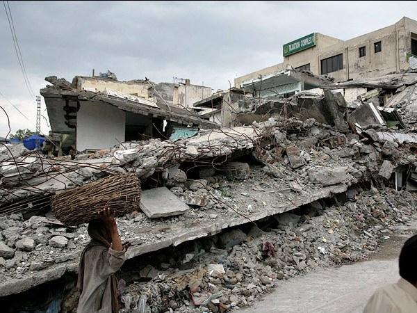 巴基斯坦大地震