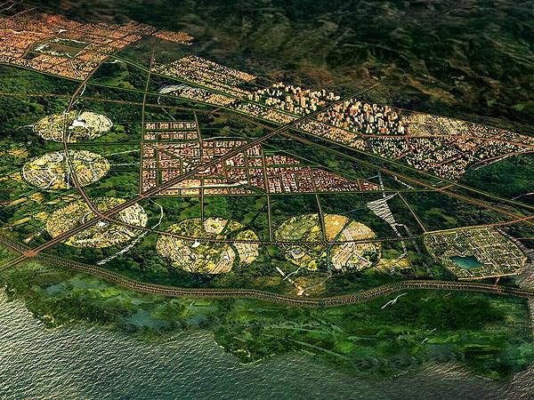 新昆明南城文化旅游特区概念规划和城市设计