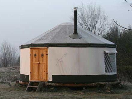 蒙古包休闲房屋
