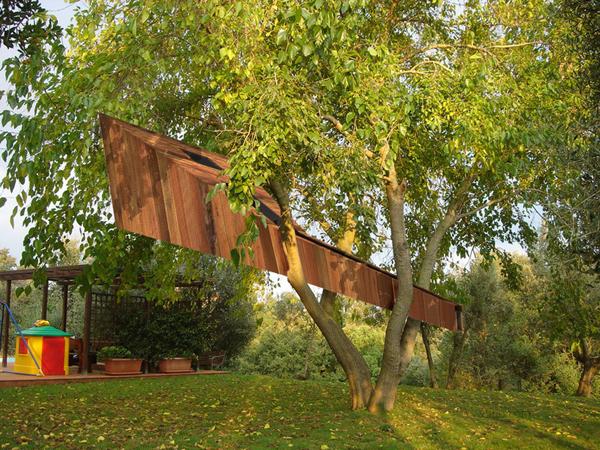 有趣的儿童树屋设计