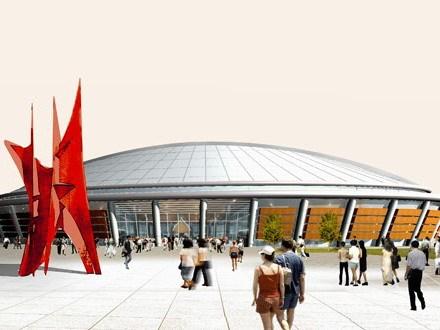 河南商丘体育中心规划