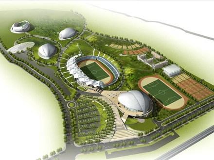 山东莱芜体育中心规划