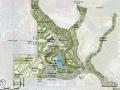 """橘城公园总平面设计""""21世纪的公园美景""""(Orange County Great P"""