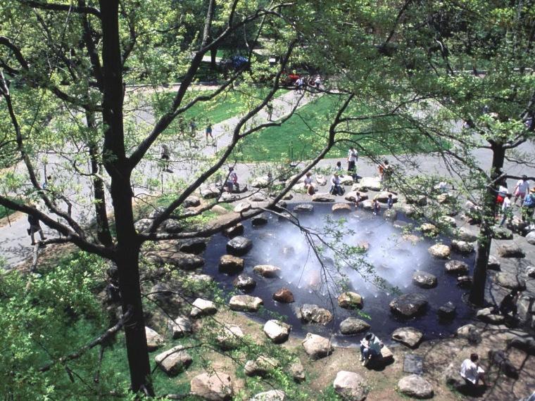 唐纳喷泉(Tanner Fountain)