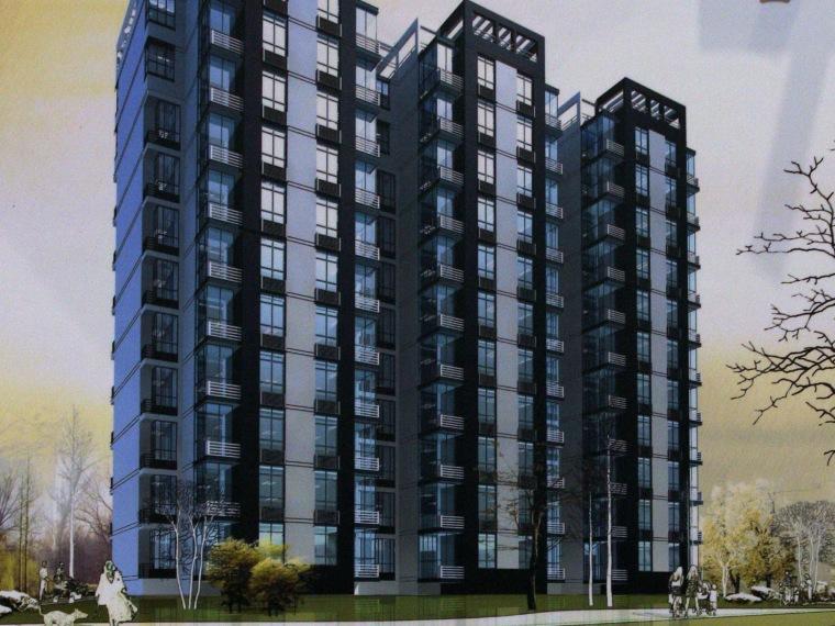 廉租住房板式小高层户型方案